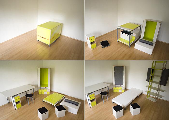 Мебельный комплект Casulo - чудеса эргономики.