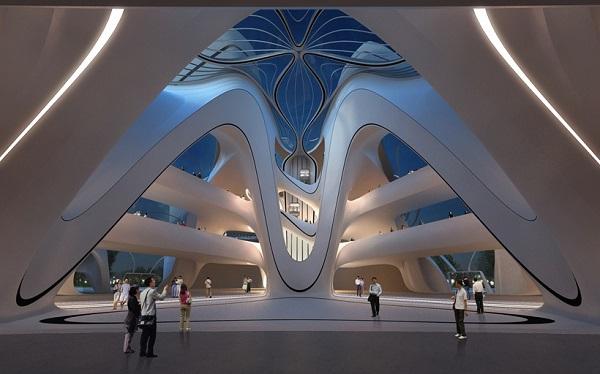 Здание Музея современного искусства.