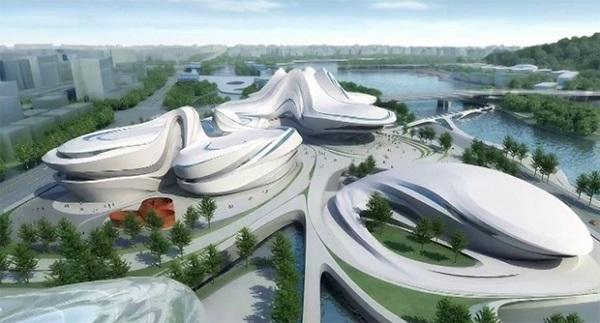 Международный центр культуры и искусств Чанша.