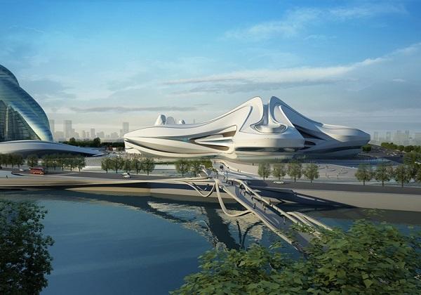 Культурный центр в Чанша.