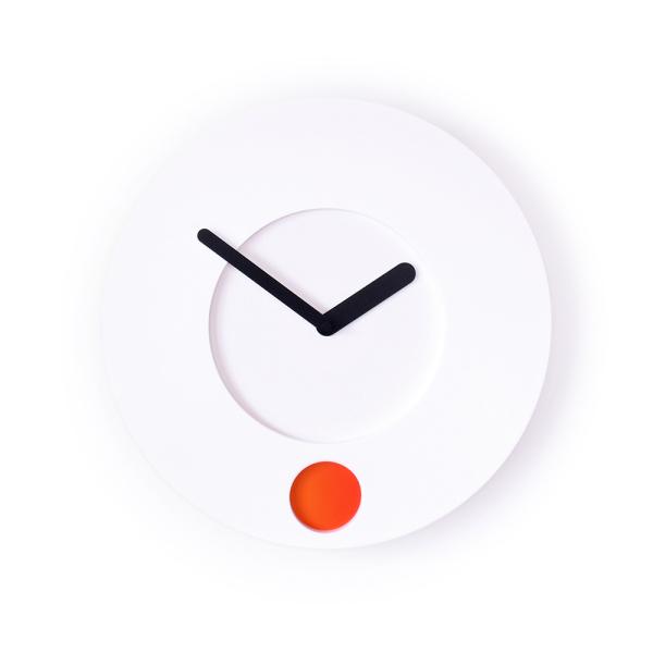 В часах Colour O'Clock каждый цвет соответствует своему времени.