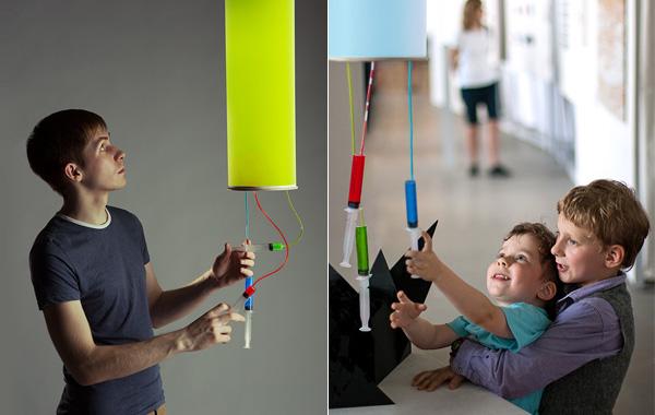 Colour-injector. RGB-светильник от русского дизайнера.