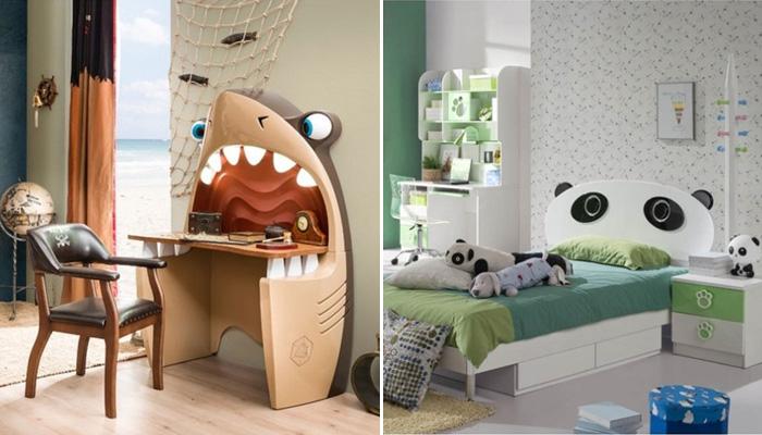 15 необычных предметов мебели для детской комнаты.