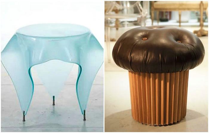 Дизайнерская мебель на любой вкус.