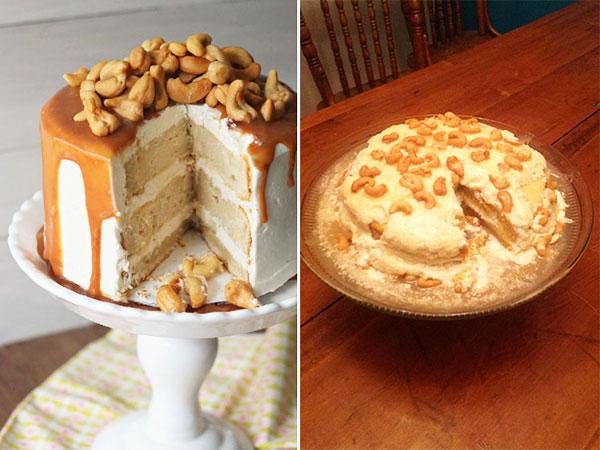 Ореховый торт. Ожидание и результат.