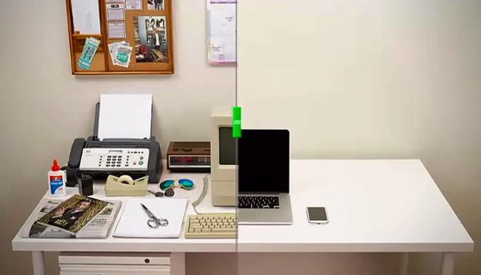 Как за 35 лет изменилось среднестатистическое рабочее место.