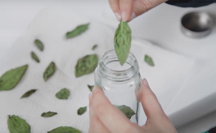 Делаем заготовки на зиму. Как сушить зелень в микроволновке.