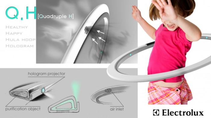 Концепты-финалисты ежегодного конкурса Electrolux Design Lab.