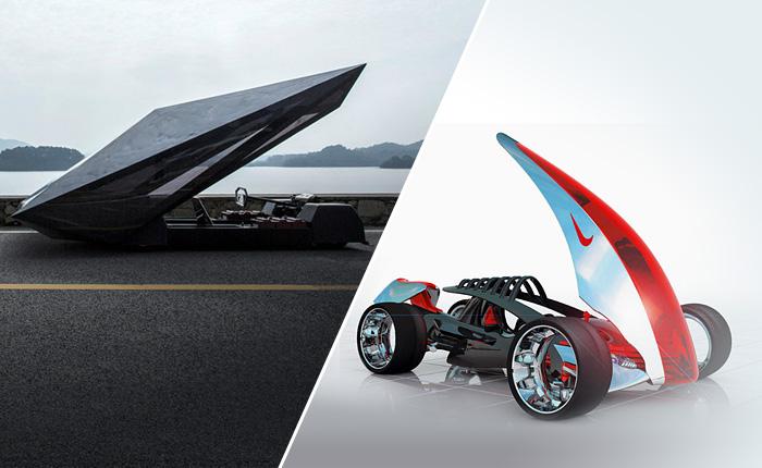 Фантастические автомобили, созданные неожиданными марками.