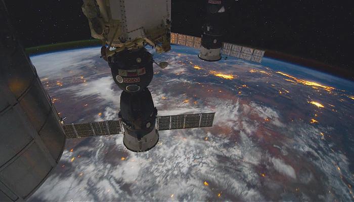 Виды Земли из космоса.