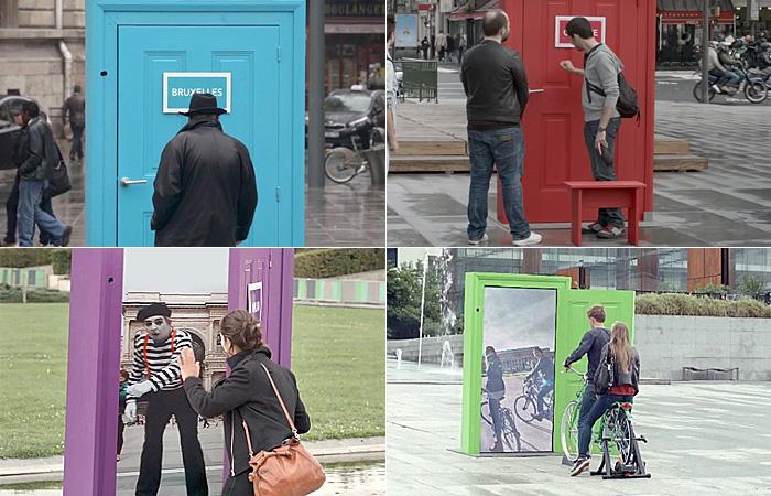 Europe. It's Just Next Door - Уникальная рекламная акция от французской ж/д компании.