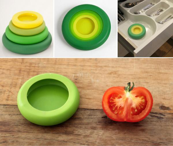 Food Huggers - набор силиконовых емкостей.