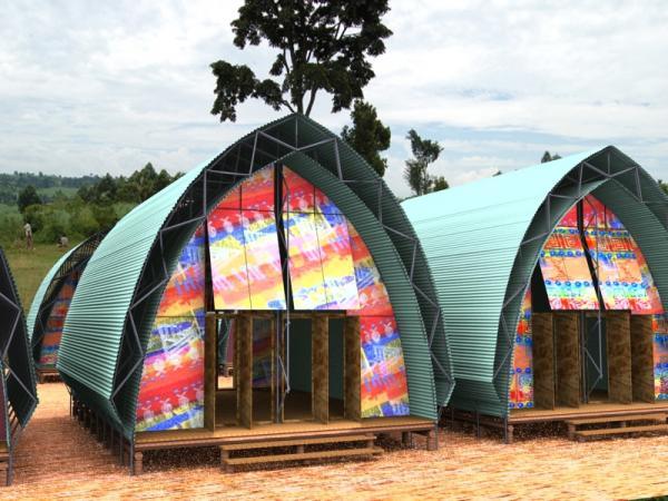 Хижина Pack Hut. Школа для тропиков.