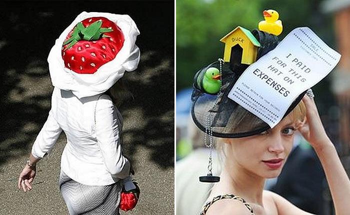 Забавные головные уборы, которые только можно встретить.