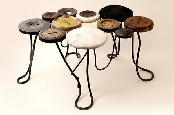 Оригинальная мебель: стулья от Kin ichi Ogata.