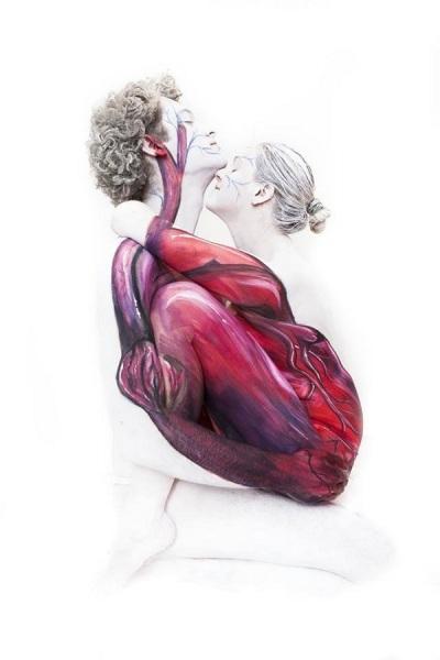 Сердце в изображении немецкой художницы.