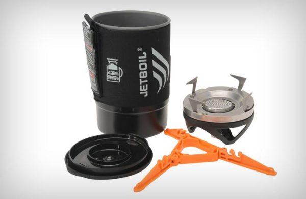Jetboil Zip. Набор для приготовления еды в походных условиях.