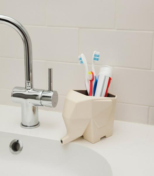 Использование Джамбо в интерьере ванной комнаты.