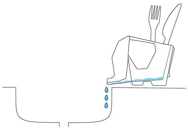 Схема бытовой сушилки в виде слона.