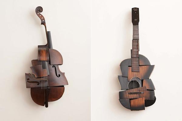Переосмысление классических форм музыкальных инструментов.