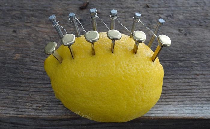 Как с помощью лимона и нескольких гвоздей развести костер.