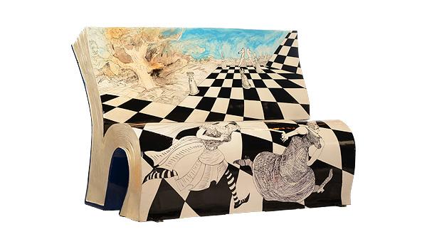 «Алиса в Зазеркалье». Льюис Кэрролл.