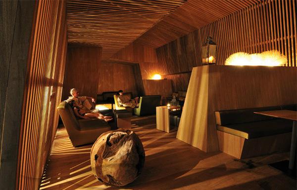 Гостинная Thermal Baths & Spa Zurich.