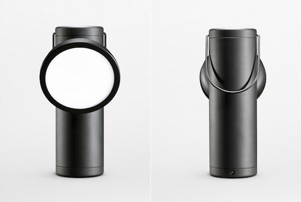 M-Lamp: матовый, черный вариант.