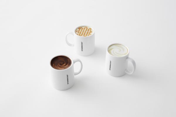 Дизайнерские кружки для Starbucks.