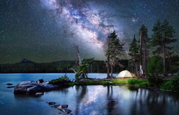 Великолепные снимки ночного звездного неба.