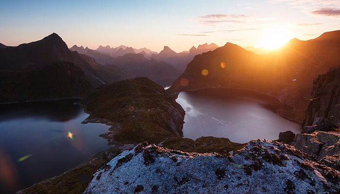5 месяцев в Норвегии. Завораживающее видео.