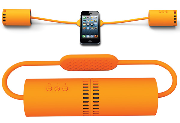 Nunchucks - динамики-нунчаки для смартфона или планшета.