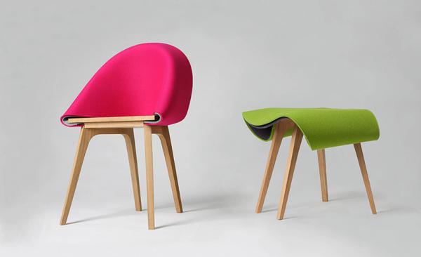 Nuno: табурет, который превращается в кресло.