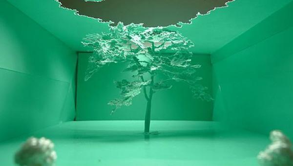 «Внимание: лес». Бумажные пакеты как предмет искусства.