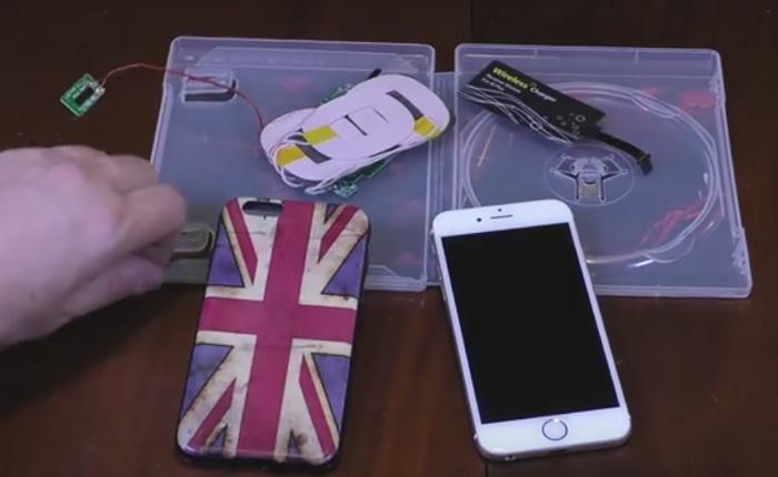 Беспроводное ЗУ для смартфона, которое можно сделать своими руками.