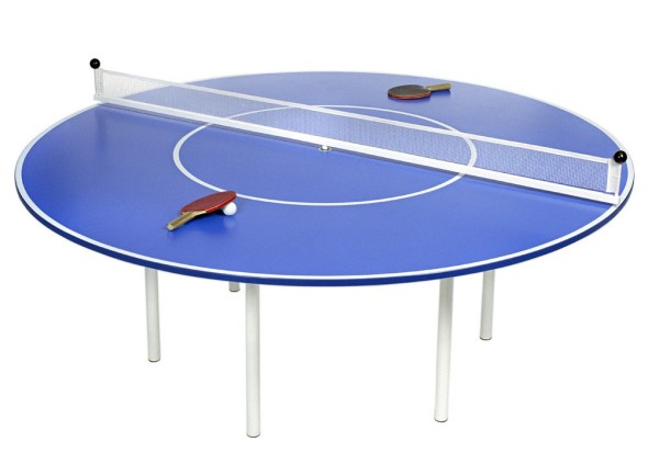 Ping Meets Pong в виде теннисного стола.