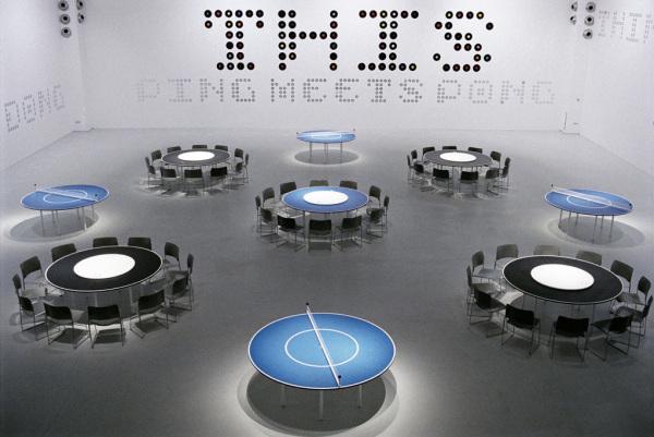 Многофункциональные столы Ping Meets Pong.