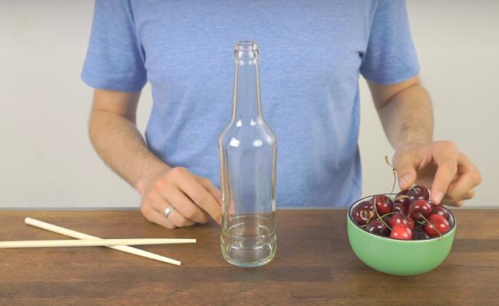 Как достать косточки из вишни в домашних условиях