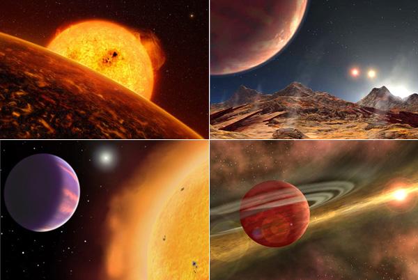 Самые необычные внесолнечные планеты.