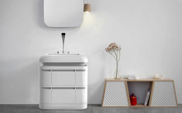 Компактная сантехническая система, объединившая сразу несколько важных элементов.