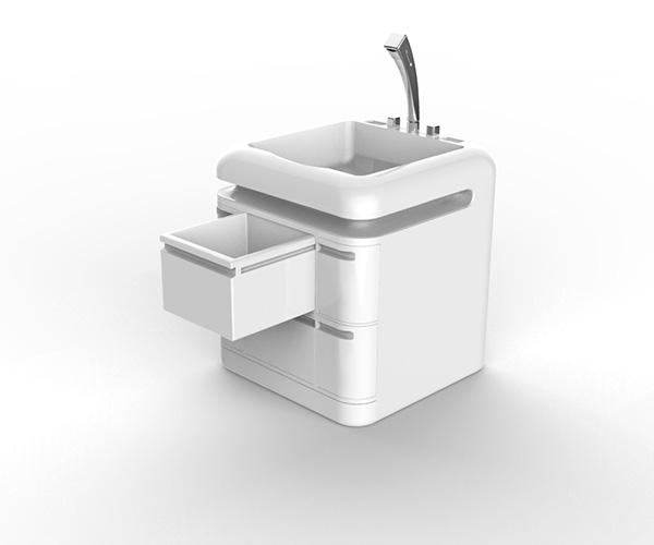 Q-Compact Toilet - система хранения.