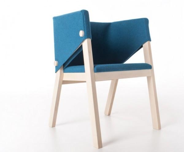 Экологичный стул от итальянского дизайнера.
