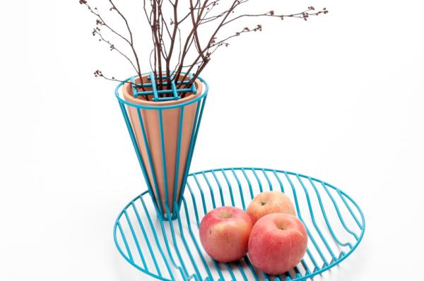Blossom Fruit Bowl - необычная ваза для фруктов и цветов.