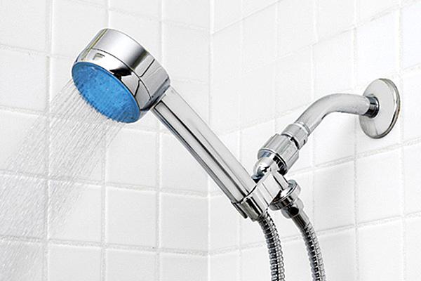 Насадка-индикатор классифицирует воду как «холодную».