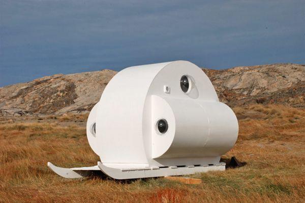 Проект «Санки». Мобильное жилище.
