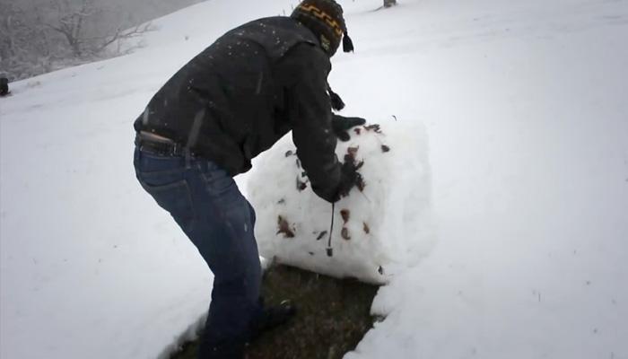 Уборка снега: в стиле Западной Виргинии.
