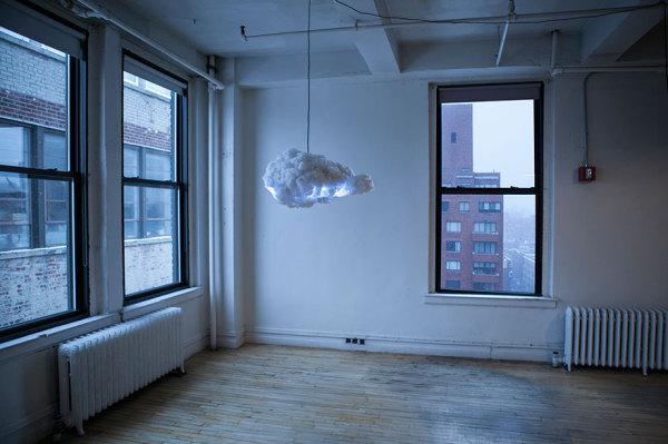 Уникальная лампа-грозовое облако.