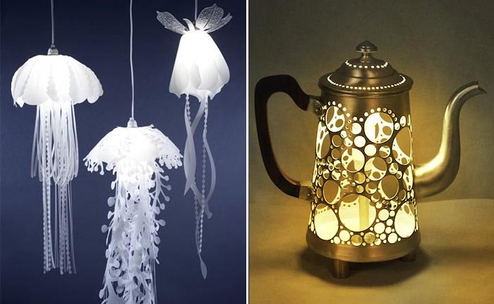 Дизайнеры в разных уголках мира создают удивительные светящиеся предметы.