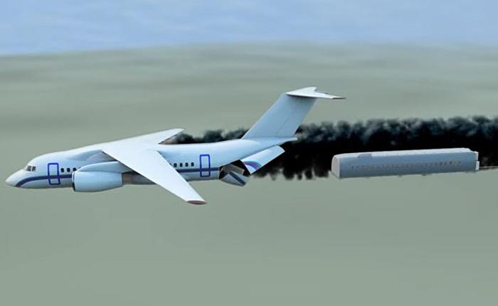 Капсула, которая катапультируется из самолета в случае бедствия.