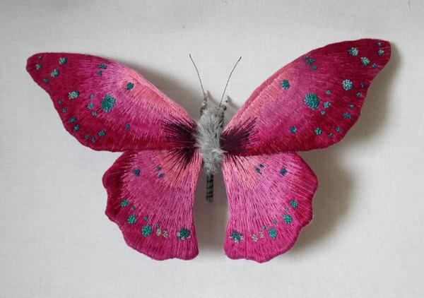 Потрясающие мотыльки и бабочки Yumi Okita.